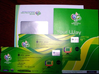 World Cup _ticket